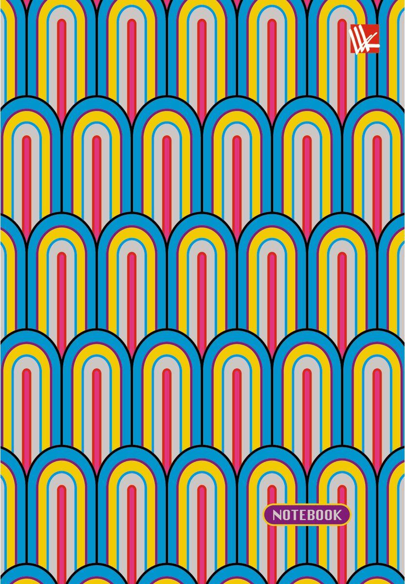 Канц-Эксмо Записная книжка Яркий узор 96 листов в клеткуЕТИ69635Записная книжка в гибком переплете А6, 96 листов. Обложка с глянцевой ламинацией. Форзацы белые. Бумага – офсет 60 г/м2, белая, клетка. Сшитый блок.