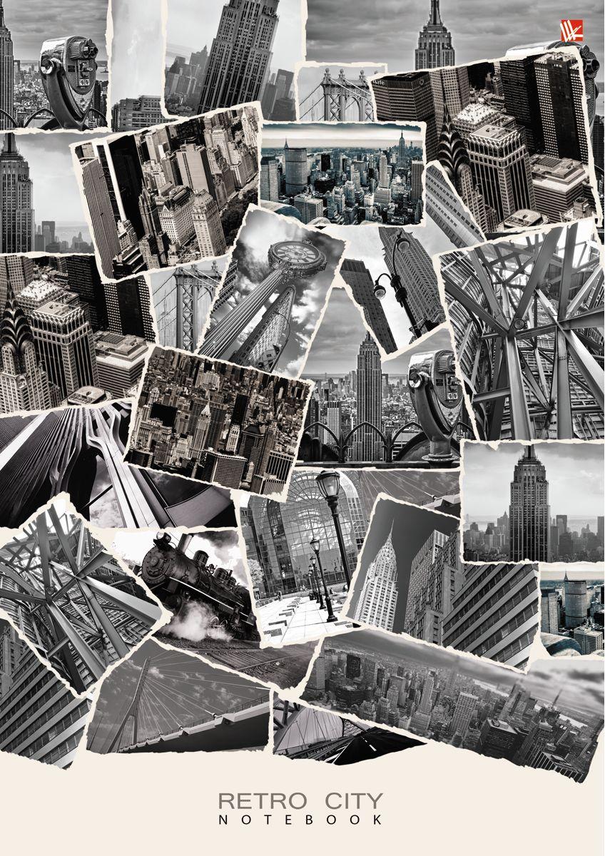 Канц-Эксмо Записная книжка Офисный стиль Городские архивы 100 листов в клеткуКЗ41001929Записная книжка в твердом переплете А4, 100 листов. Обложка с глянцевой ламинацией. Бумага – офсет 60 г/м2, белая, клетка. Сшитый блок.