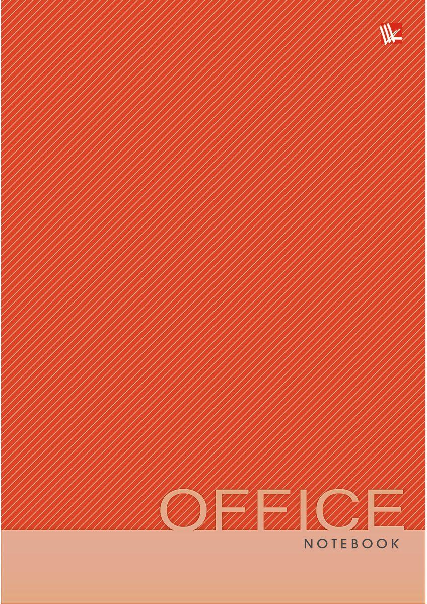 Канц-Эксмо Записная книжка Офисный стиль Яркий цвет 80 листов в клетку КЗ5801965КЗ5801965Записная книжка в твердом переплете А5, 80 листов. Обложка с глянцевой ламинацией. Форзацы белые. Бумага – офсет 60 г/м2, белая, клетка. Сшитый блок.