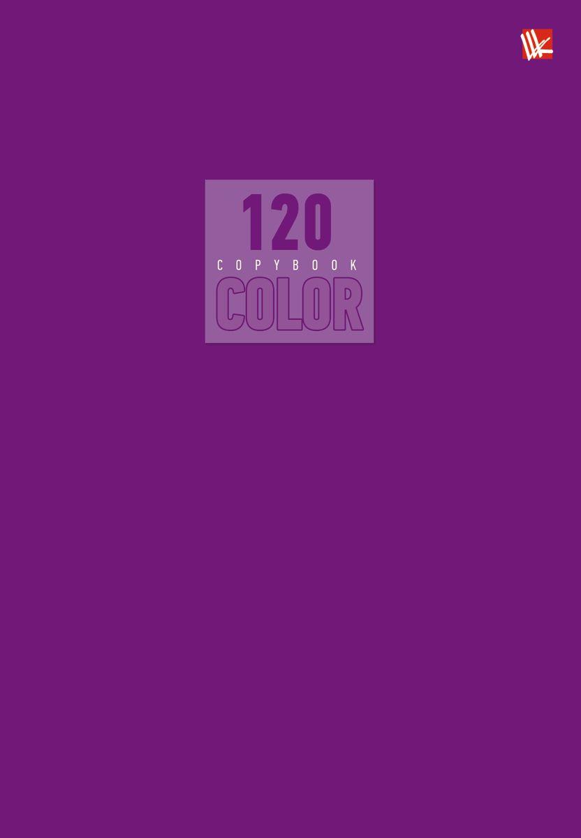 Канц-Эксмо Тетрадь Стиль и цвет 120 листов в клетку цвет лиловый34141_желтый свистокТетрадь А5- 120 листов на швейно-клеевом креплении, клетка. Обложка мелованный картон повышенного качества, матовая ламинация. Бумага офсет 60г/м2