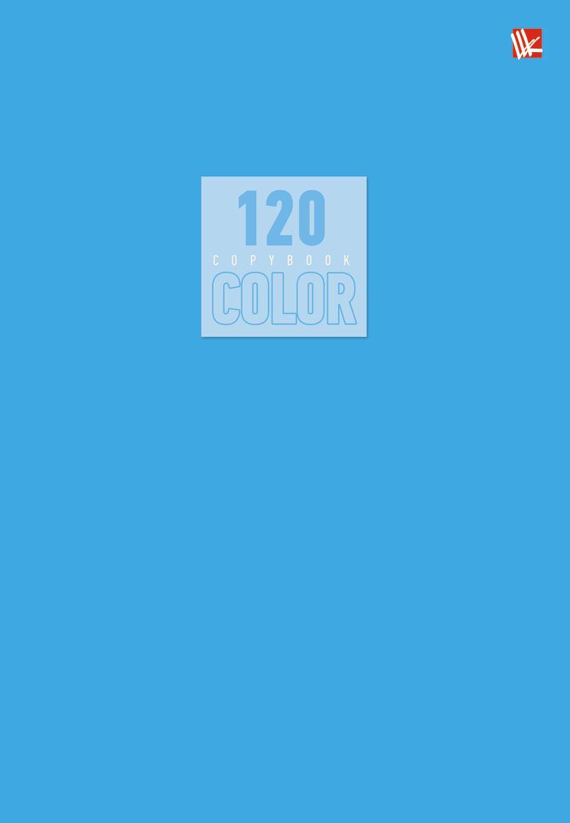 Канц-Эксмо Тетрадь Стиль и цвет 120 листов в клетку цвет голубой Т5120517106432/455193Тетрадь А5- 120 листов на швейно-клеевом креплении, клетка. Обложка мелованный картон повышенного качества, матовая ламинация. Бумага офсет 60г/м2