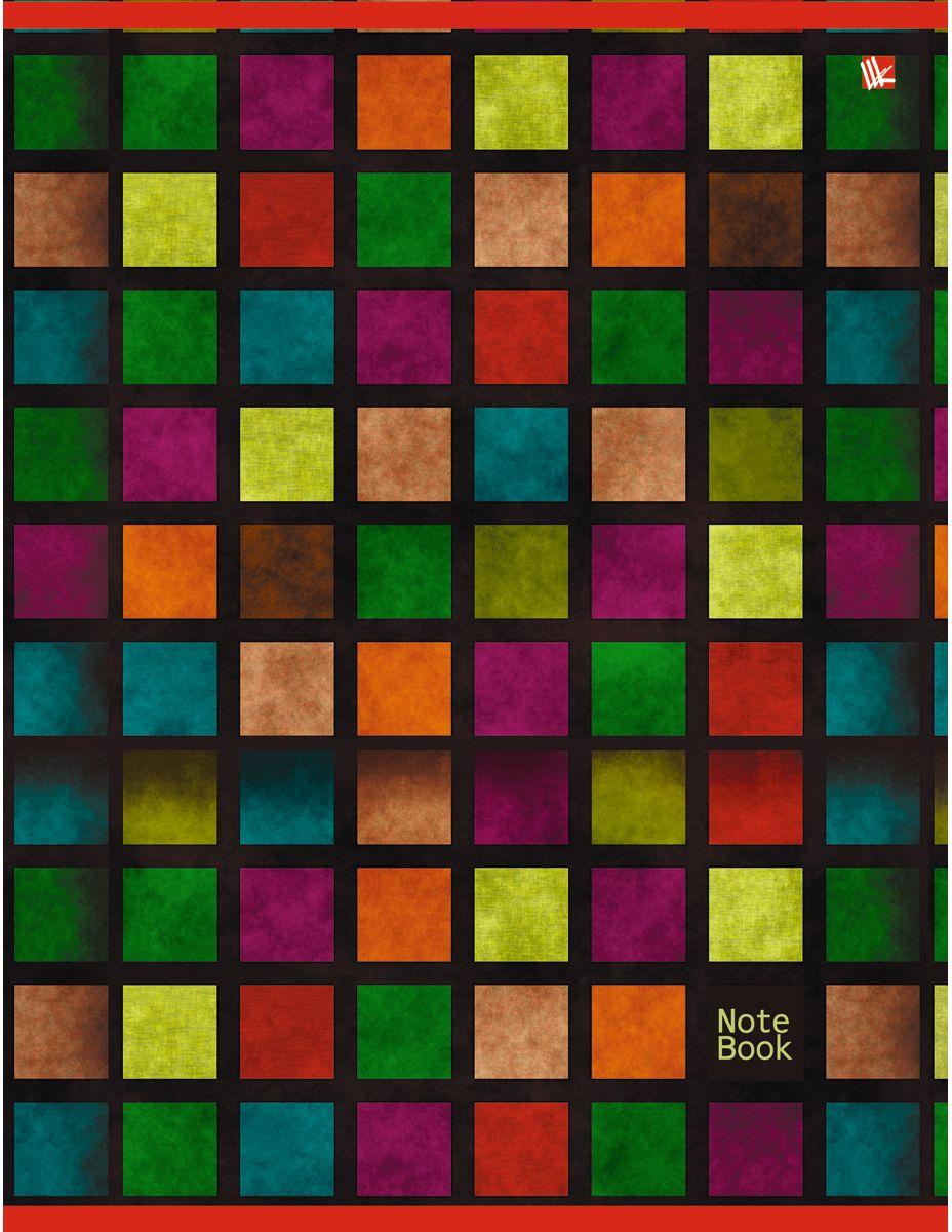 Канц-Эксмо Тетрадь Офисный стиль Мозаика 80 листов в клеткуТК4804238Тетрадь А4 80 листов на скрепке, клетка. Обложка мелованный картон, бумага офсет 60г/м2