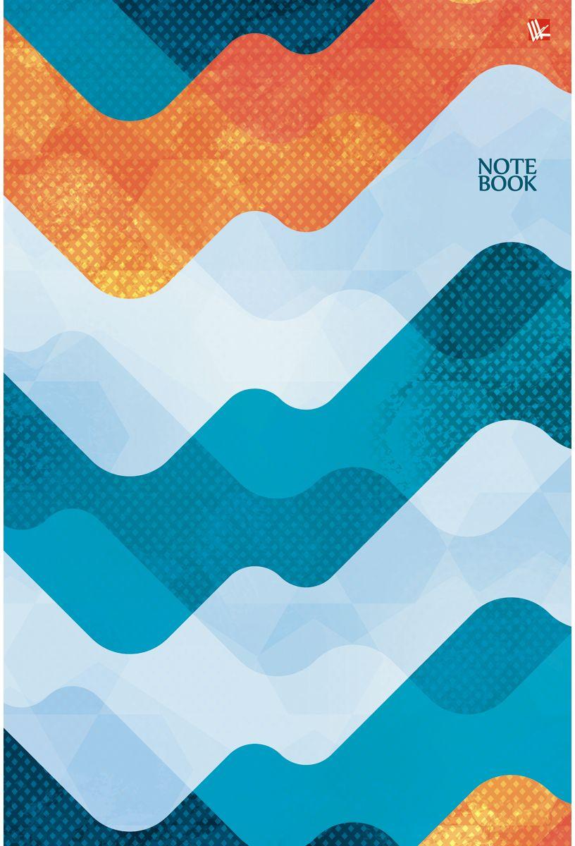 Канц-Эксмо Тетрадь Офисный стиль Волнистый орнамент 80 листов в клеткуТС4804208Тетрадь А4 80 листов на евроспирали, клетка. Обложка мелованный картон. Бумага офсет 60г/м2