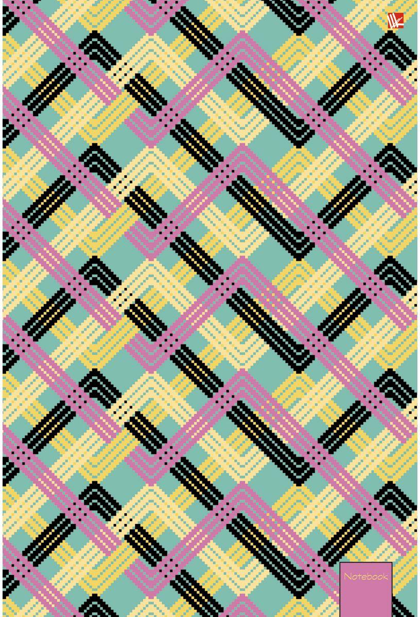 Канц-Эксмо Тетрадь Офисный стиль Переплетение 80 листов в клеткуТСБ4804203Тетрадь А4 80 листов на евроспирали, клетка. Обложка мелованный картон с выборочным лакированием и блестками. Бумага офсет 60г/м2