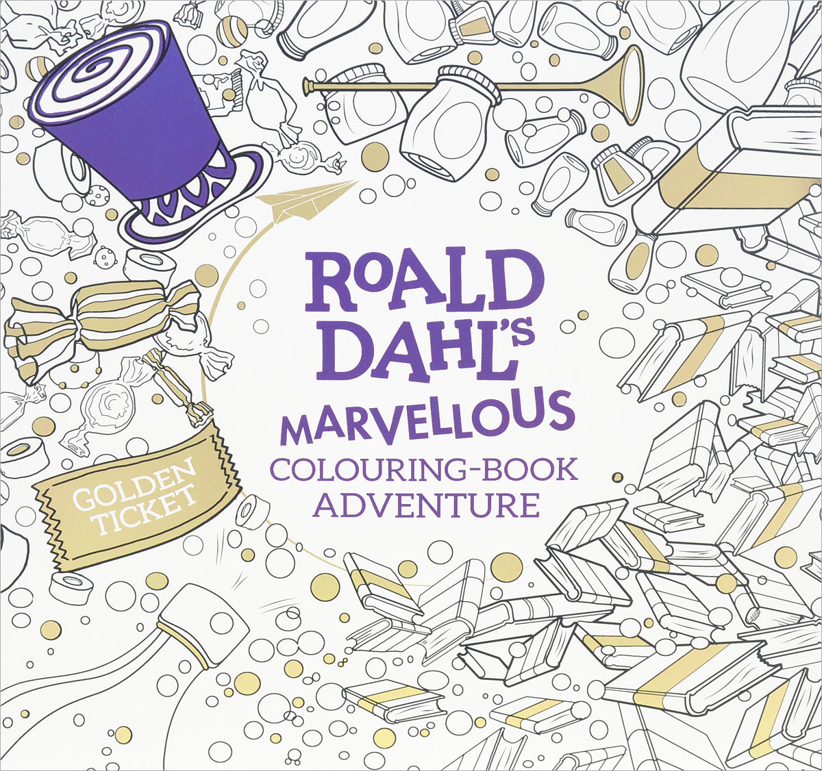 Roald Dahl's Marvellous Colouring-Book Adventure die hard the official colouring book