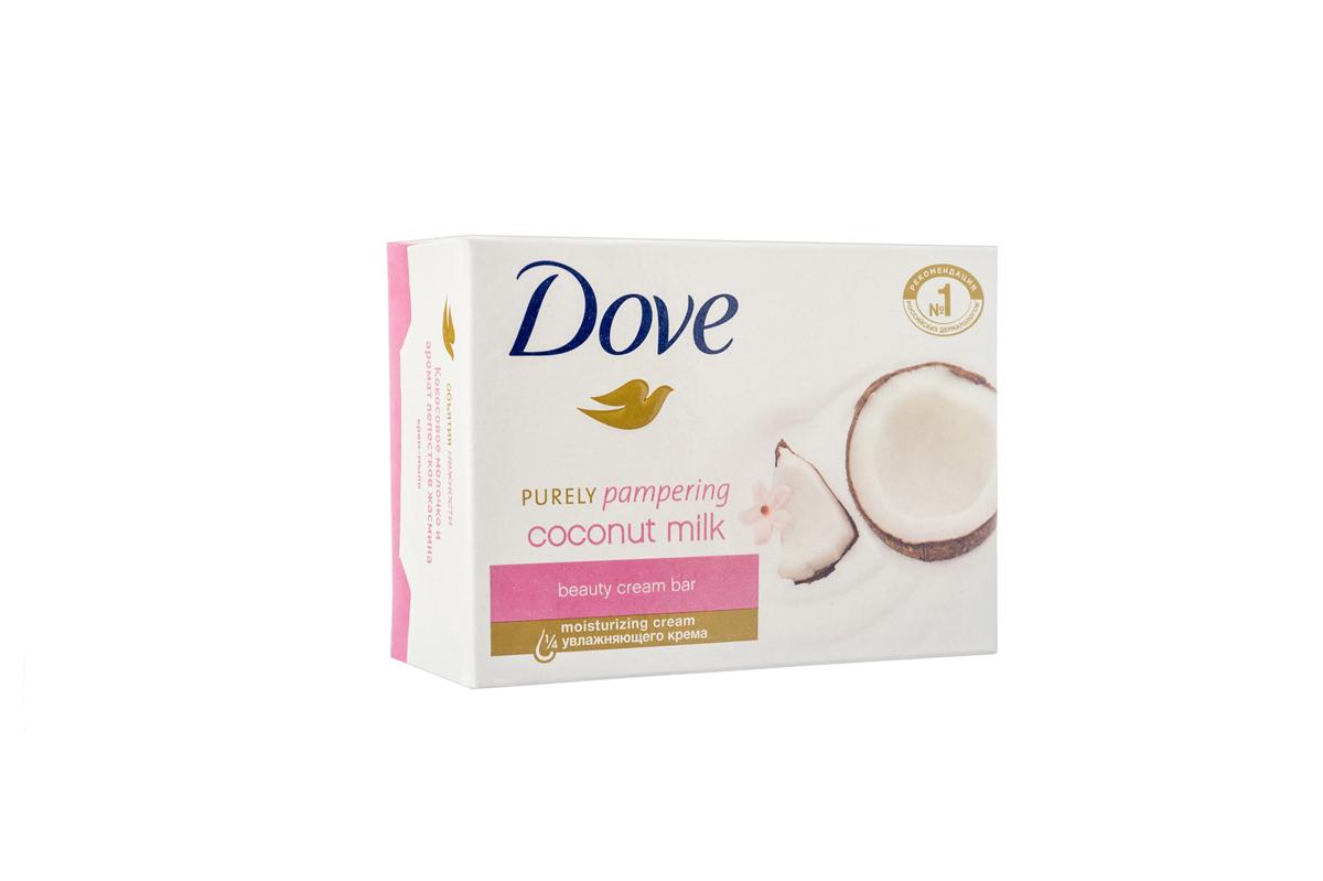 Dove Крем-мыло Кокосовое молочко и лепестки жасмина 135 гр