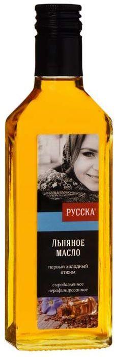 Русска масло льняное, 250 г кокосовое масло нерафинированное baraka 250 г