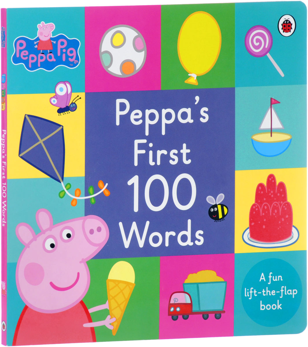 Peppa Pig: Peppa's First 100 Words peppa pig 1000 first words sticker book