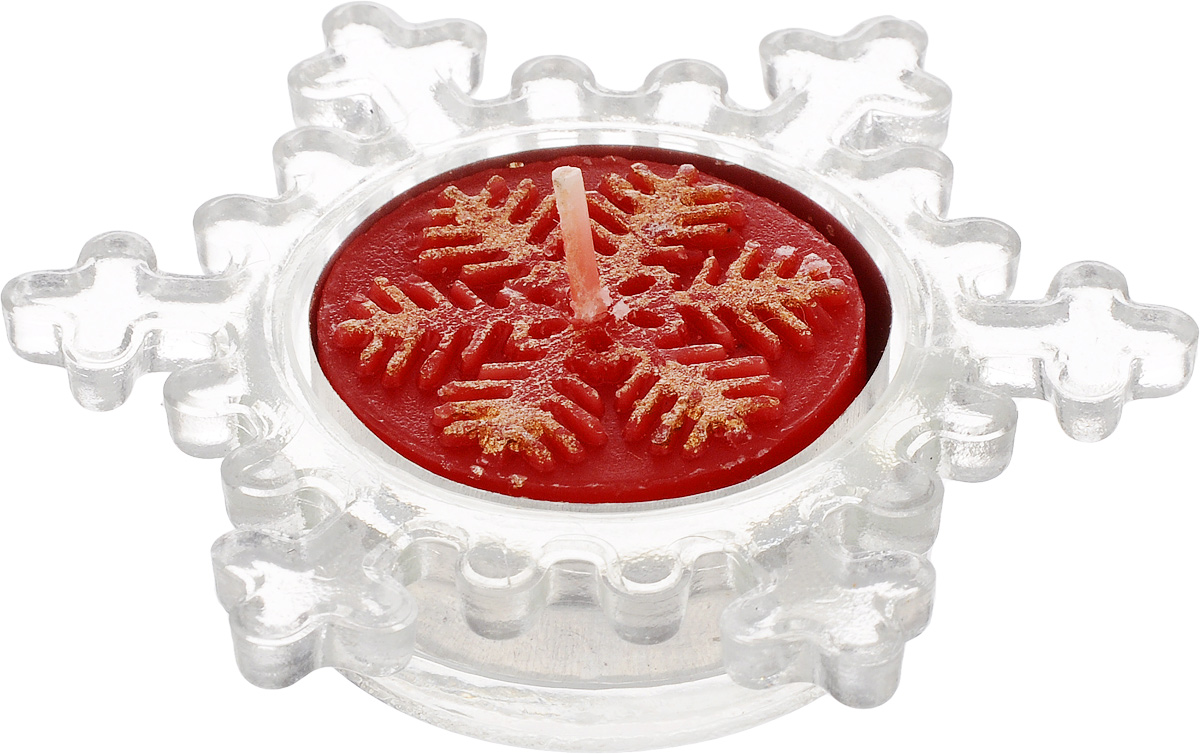 Подсвечник декоративный Lillo, со свечойLil 88014Декоративный подсвечник Lillo, изготовленный из стекла, выполнен в виде снежинки. В комплекте предусмотрена чайная свеча, обладающая приятным ароматом. Оба предмета упакованы в красивую подарочную упаковку.Вы можете поставить подсвечник в любом месте, где он будет удачно смотреться, и радовать глаз. Кроме того - это отличный вариант подарка для ваших близких и друзей в преддверии Нового года.Размеры подсвечника: 8 х 8 х 2 см.Размеры свечи: 3,5 х 3,5 х 1,5 см.