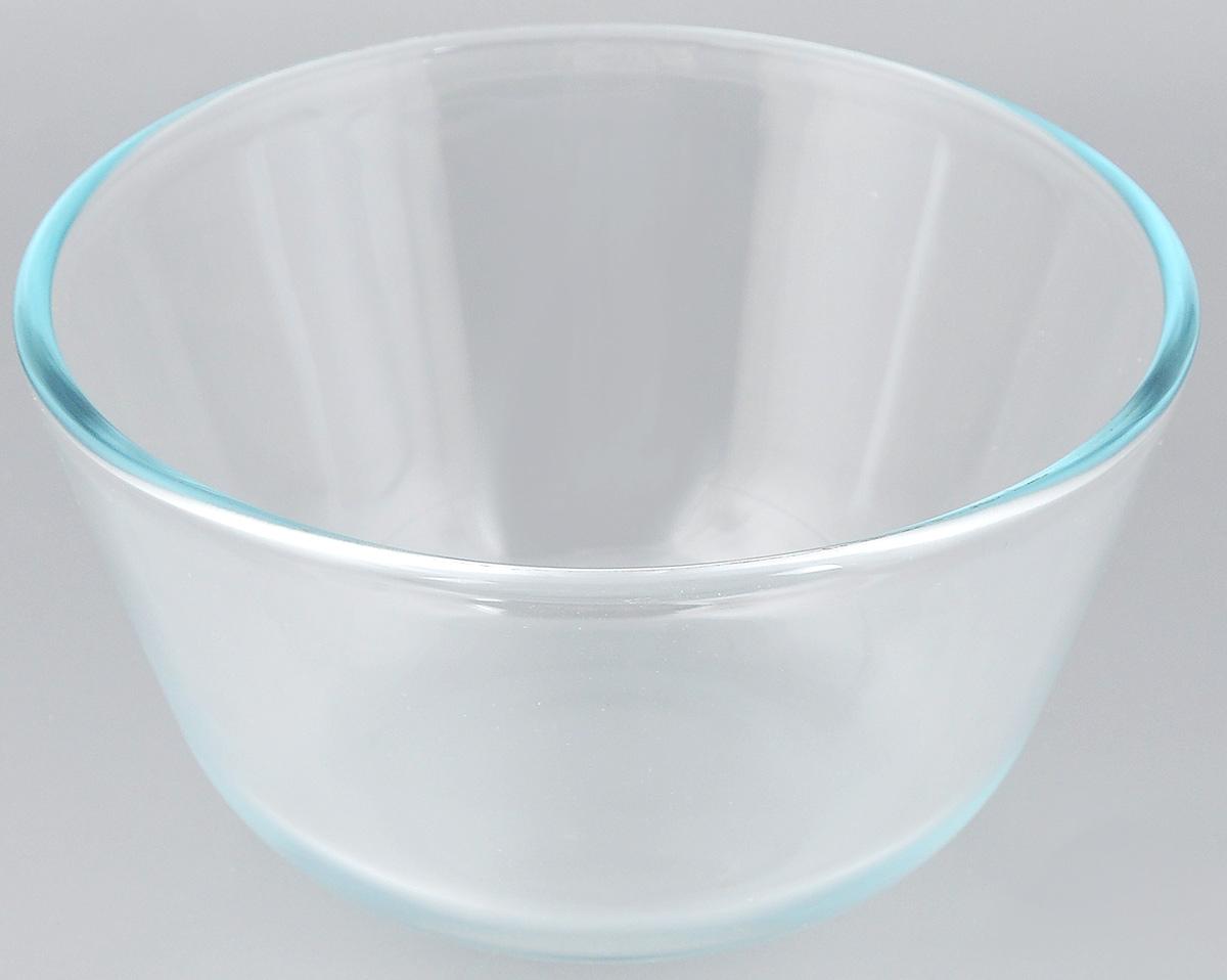 Миска Sсovo, цвет: прозрачный, 0,65 л603Миска Sсovo изготовлена из термостойкого и экологически чистого стекла. Предназначена для приготовления пищи в духовке, жарочном шкафу и микроволновой печи. Миска прекрасно подойдет для хранения и замораживания различных продуктов, а также для сервировки и декоративного оформления праздничного стола.Миска Sсovo станет незаменимым аксессуаром на кухне для любой хозяйки.Можно мыть в посудомоечной машине. Высота стенки: 7,5 см. Ширина миски: 13,5 см. Диаметр дна: 7 см.