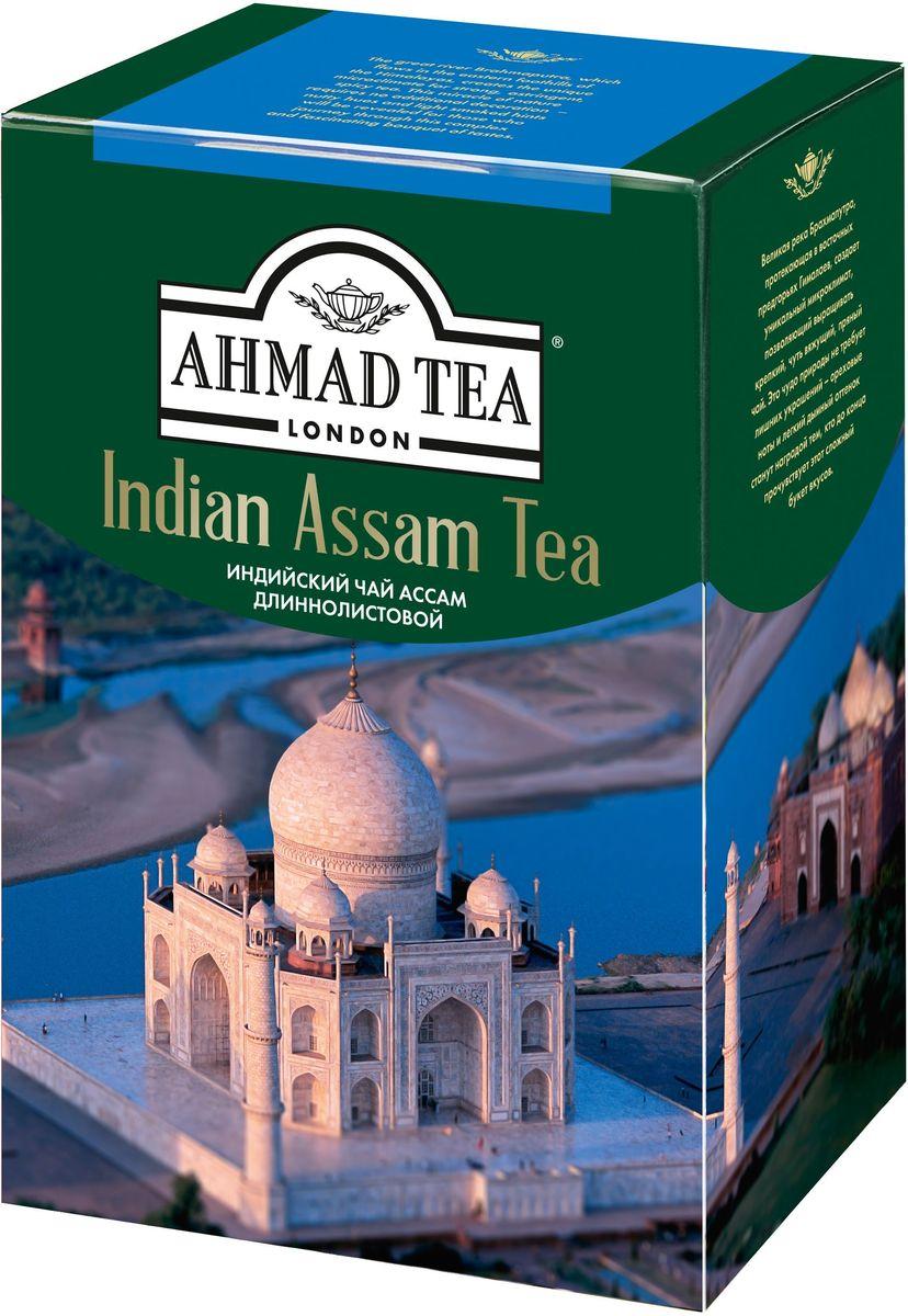 Ahmad Tea Indian Assam чай черный листовой, 200 г1628Великая река Брахмапутра, протекающая в восточных предгорьях Гималаев, создает уникальный микроклимат, позволяющий выращивать крепкий, чуть вяжущий, пряный чай. Это чудо природы не требует лишних украшений - ореховые ноты и легкий дымный оттенок станут наградой тем, кто до конца прочувствует этот сложный букет вкусов.Всё о чае: сорта, факты, советы по выбору и употреблению. Статья OZON Гид