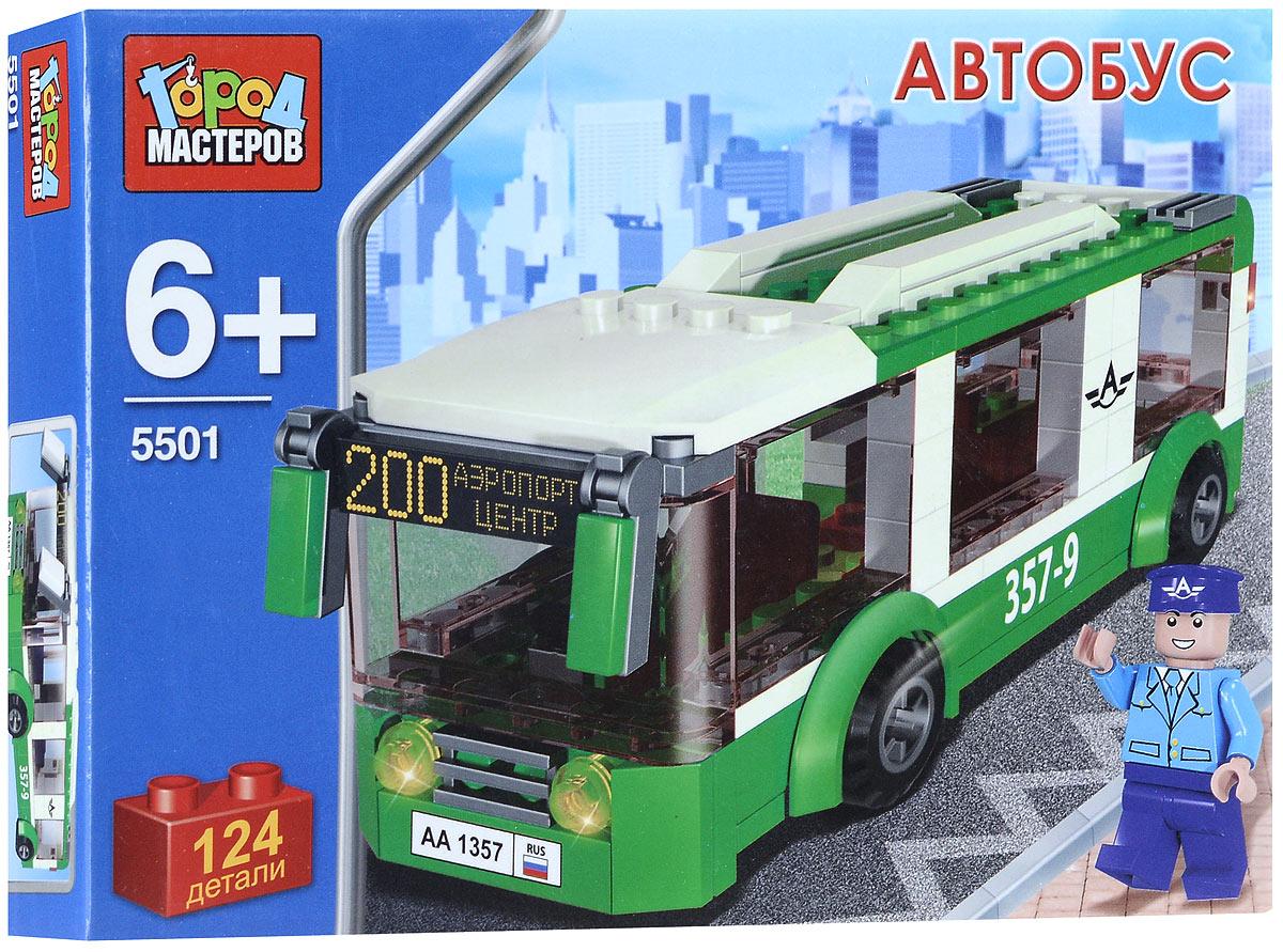 Город мастеров Конструктор Автобус город мастеров конструктор автобус 124 детали город мастеров
