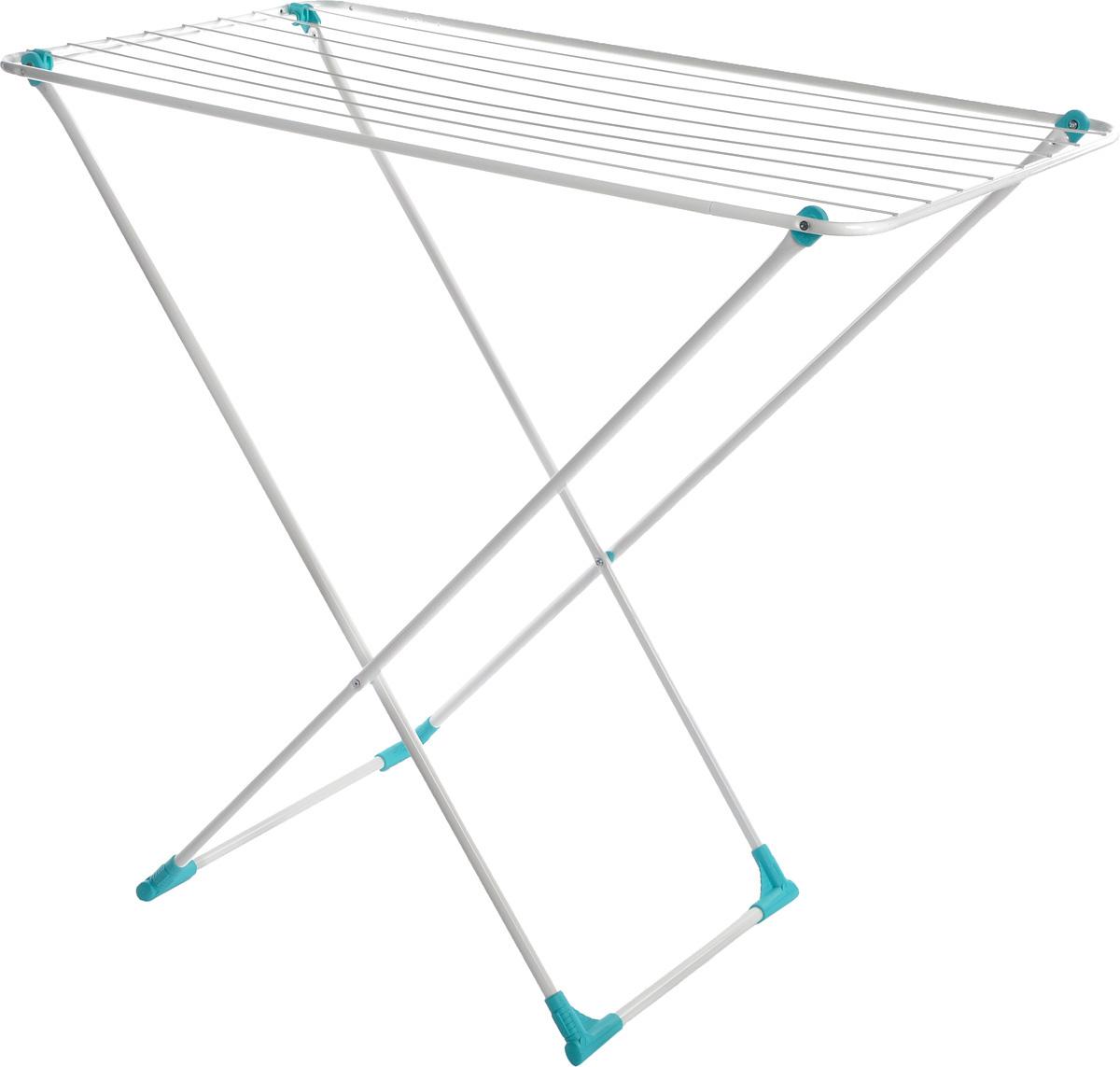 Сушилка для белья Nika, напольная, цвет: белый, 105 х 54 х 95 смСБ3бНапольная сушилка для белья Nika проста и удобна в использовании, компактно складывается, экономя место в вашей квартире. Сушилку можно использовать на балконе или дома. Сушилка имеет специальные пластиковые крепления в основе стоек, которые не царапают пол. Размер сушилки в разложенном виде: 105 x 54 x 95 см.Размер сушилки в сложенном виде: 15 х 54 х 2,5 см.Длина сушильного полотна: 10 м.