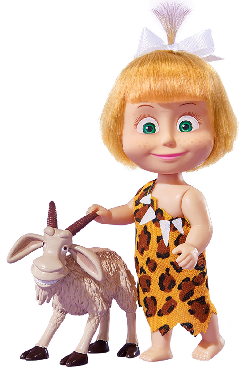 Simba Мини-кукла Маша с козой платье маша кравцова