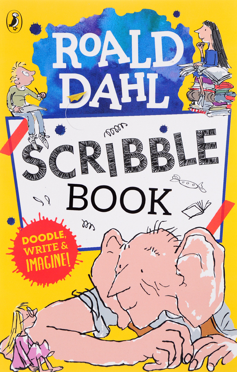 Roald Dahl Scribble Book