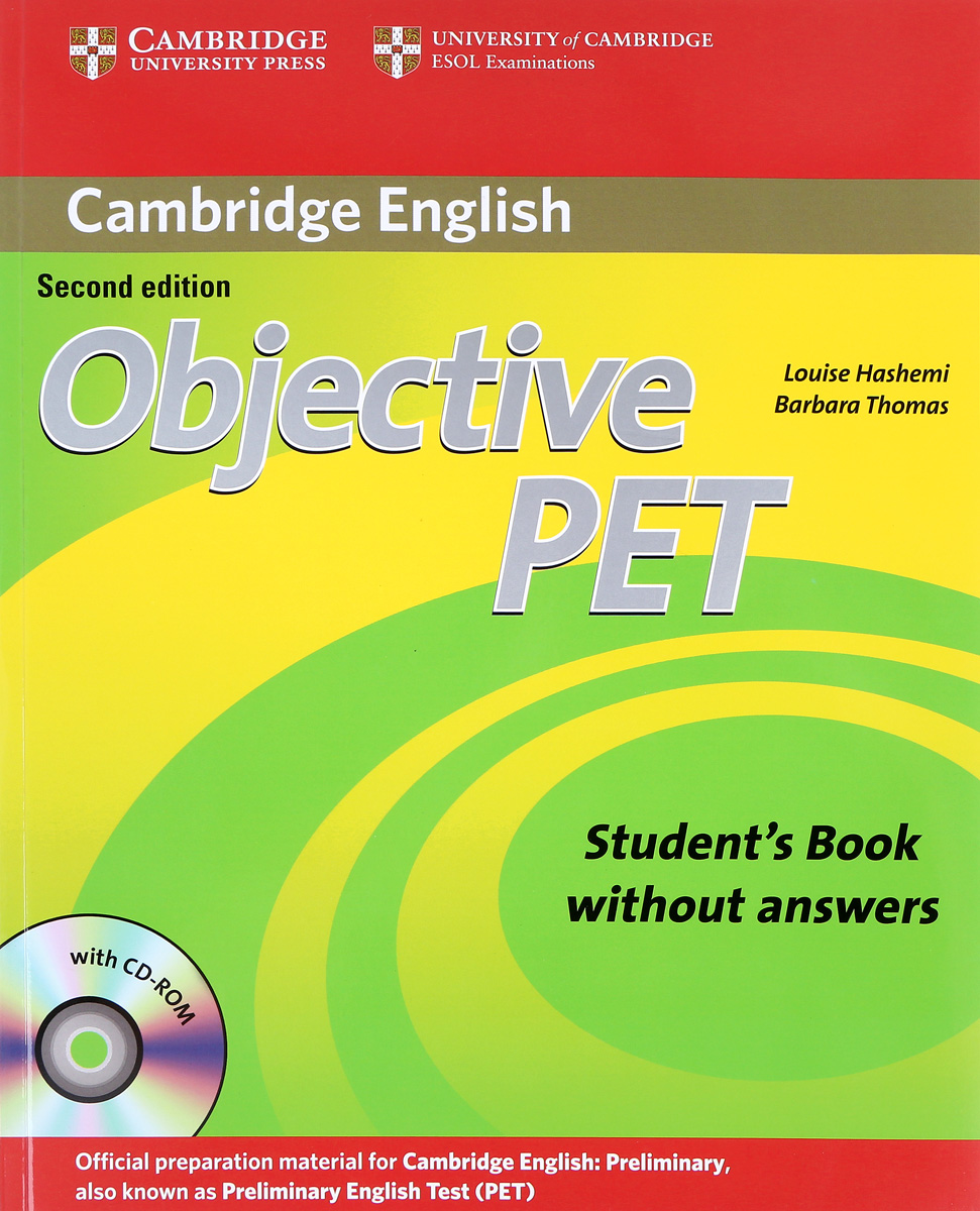 Objective PET: Student's Book without Answers (+ CD-ROM) objective first 4 edition student s book without answers cd rom