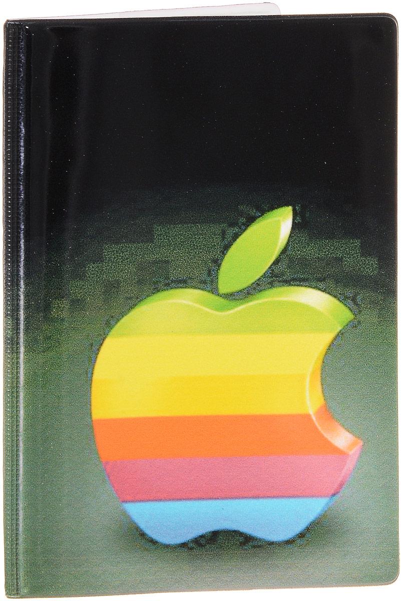Обложка для паспорта Эврика, цвет: черный, мультиколор. 92537