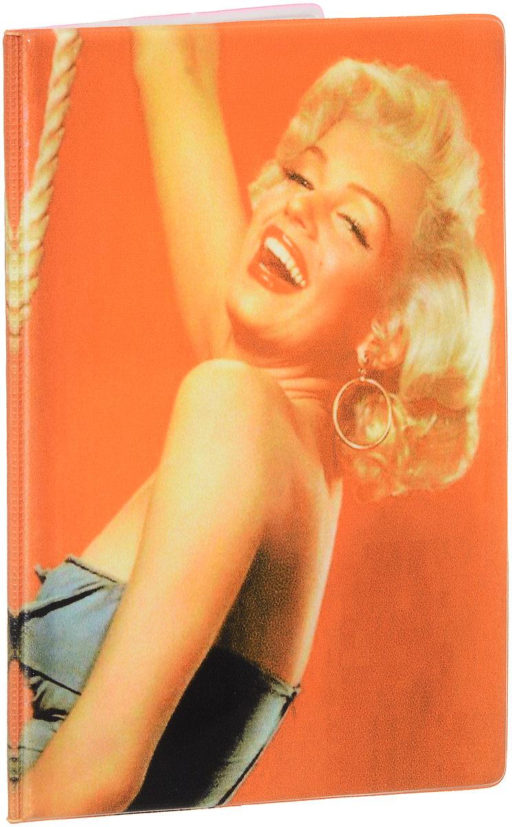 Обложка для паспорта Эврика Мерлин Монро, цвет: оранжевый. 92603ПВХ (поливинилхлорид)Обложка для паспорта от Evruka- оригинальный и стильный аксессуар, который придется по душе истинным модникам и поклонникам интересного и необычного дизайна. Качественная обложка выполнена из легкого и прочного ПВХ, который надежно защищает важные документы от пыли и влаги. Изделие оформлено ярким принтом с Мерлин Монро. Рисунок нанесён специальным образом и защищён от стирания.Изделие раскладывается пополам. Внутри размещены два накладных кармашка из прозрачного ПВХ.Простая, но в то же время стильная обложка для паспорта определенно выделит своего обладателя из толпы и непременно поднимет настроение. А яркий современный дизайн, который является основной фишкой данной модели, будет радовать глаз.