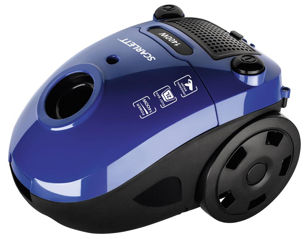 Scarlett SC-VC80B08, Blue пылесосSC-VC80B08Scarlett SC-VC80B08 - мощный и надежный пылесос, который избавит дом от грязи, пыли, аллергенов. Многоразовый мешок Dust-trap задерживает мельчайшие частицы пыли, поддерживая здоровую атмосферу в доме. Специальный индикатор, расположенный на эргономичном корпусе оповестит о заполнении пылесборника. 2 постоянных антистатических фильтра грубой очистки защищают мотор от загрязнения и предотвращают повторное попадание пыли в помещение в процессе уборки. Как выбрать пылесос. Статья OZON Гид