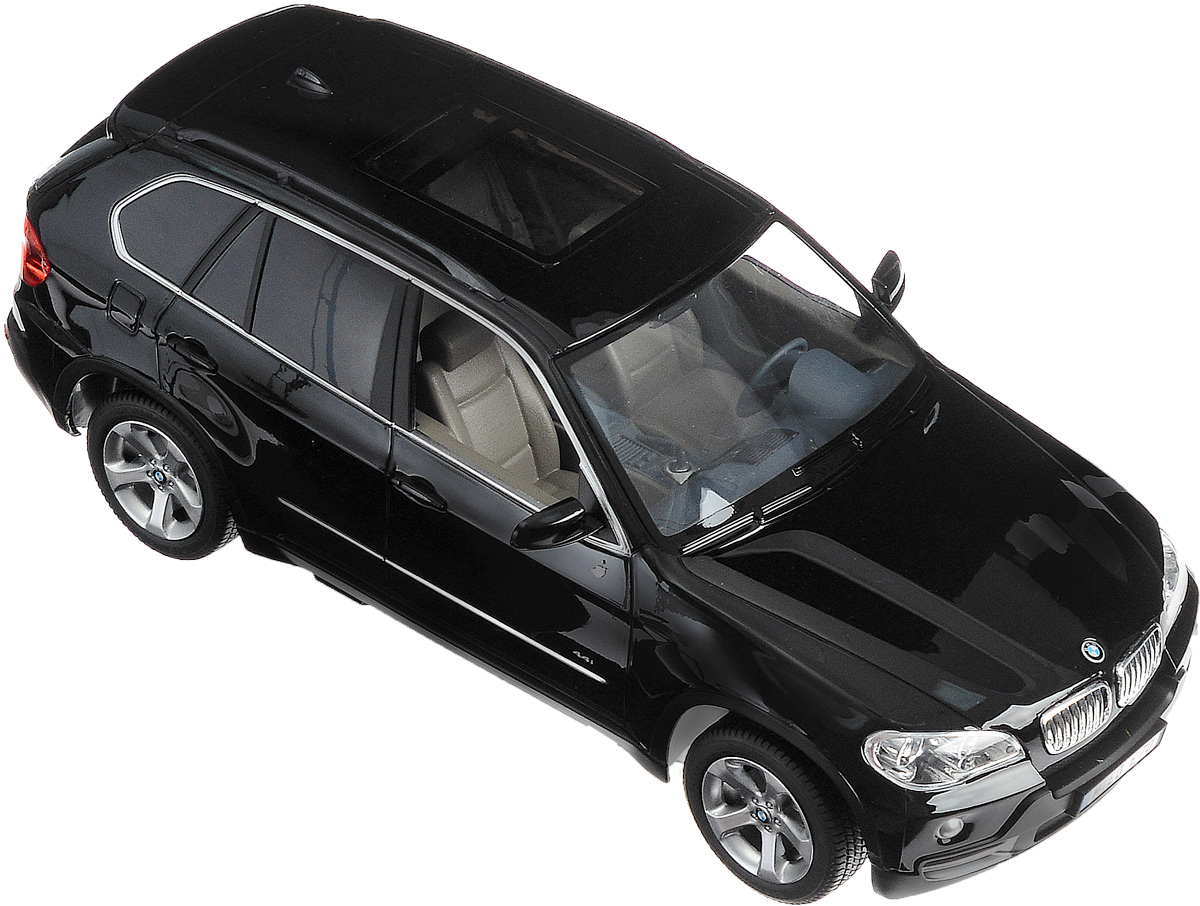 Rastar Радиоуправляемая модель BMW X5 цвет черный масштаб 1:14 rastar радиоуправляемая модель bmw i8 цвет черный масштаб 1 14