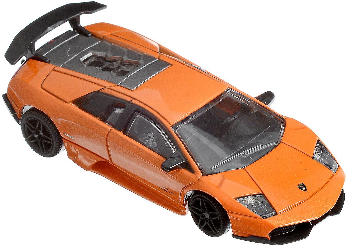 Rastar Модель автомобиля Lamborghini Murcielago LP 670-4 SV цвет оранжевый масштаб 1:43 модель автомобиля lamborghini murcielago lp670 4 масштаб 1 43 39500