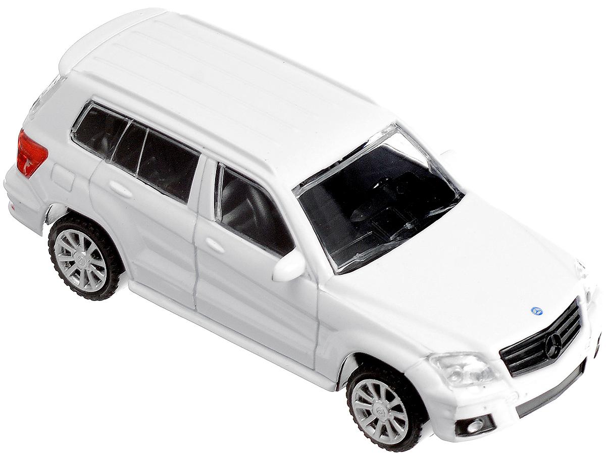 Rastar Модель автомобиля Mercedes-Benz GLK Class цвет белый rastar модель автомобиля mercedes benz s63 amg цвет серебристый