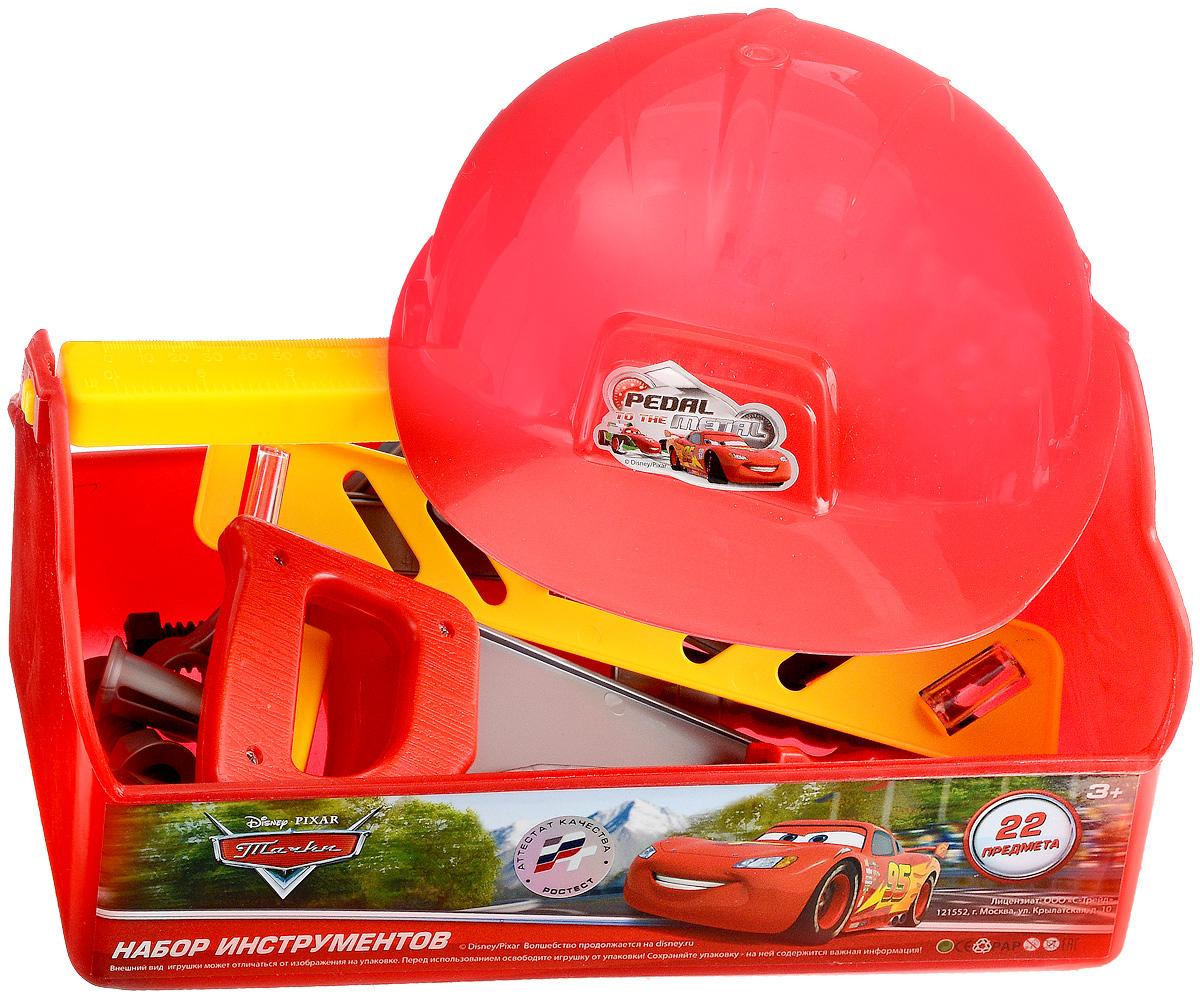 Играем вместе Набор игрушечных инструментов Тачки 22 предмета ролевые игры играем вместе набор строительных инструментов тачки 2920a
