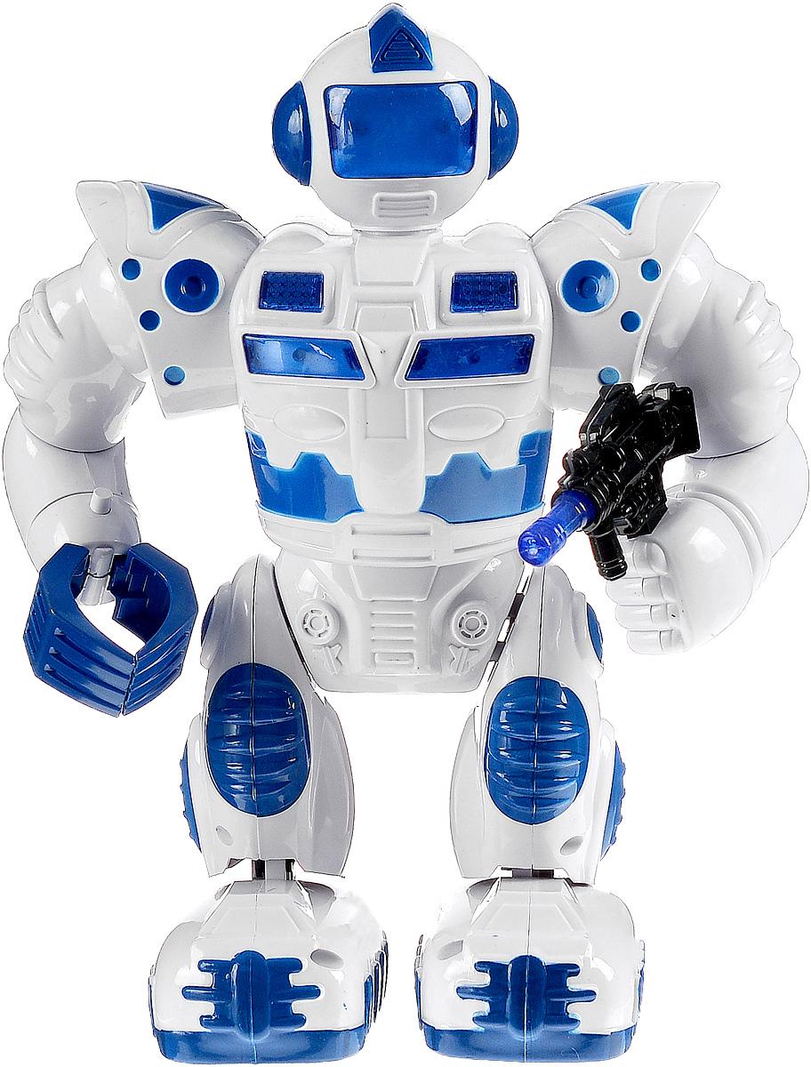Играем вместе Робот цвет белый синий купить робот drinky