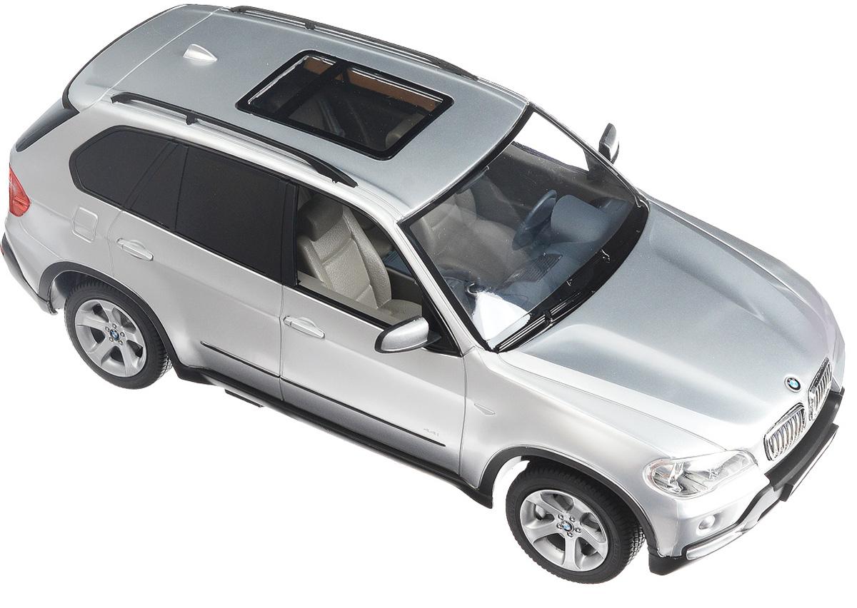 Rastar Радиоуправляемая модель BMW X5 цвет серебристый масштаб 1:14 rastar радиоуправляемая модель bmw i8 цвет черный масштаб 1 14