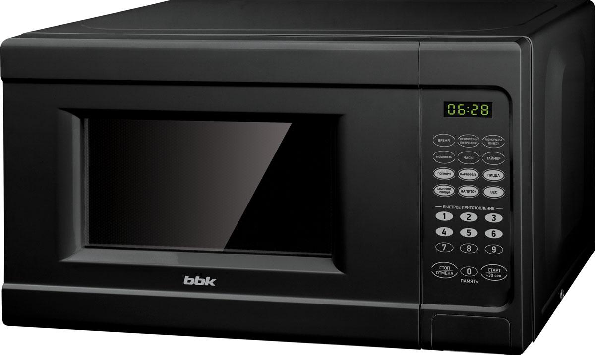 BBK 20MWS-727S/B, Black СВЧ-печь - Микроволновые печи
