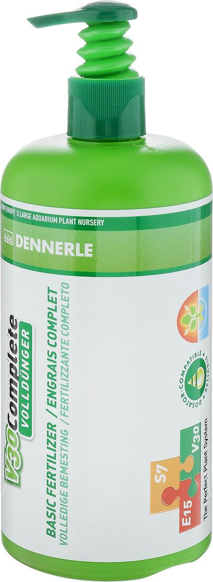 Удобрение для аквариумных растений Dennerle V30 Complete, 500 мл удобрение агрикола палочки д цветущих растений