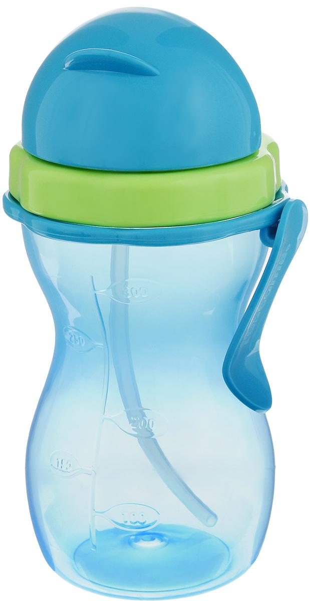 Бутылочка детская Tescoma Bambini, с трубочкой, цвет: голубой, зеленый, 300 мл668172.54Детская бутылочка Tescoma Bambini оснащена гибкой силиконовой трубочкой и уплотнением, шкалой для удобного отмеривания и зажимом для подвешивания. Изготовлена из высококачественного нетоксичного пластика. Подходит для использования в холодильнике и микроволновой печи (без крышки). Контейнер можно мыть в посудомоечной машине. Крышку, трубочку и уплотнение мыть под проточной водой.Подходит для детей от 12 месяцев.
