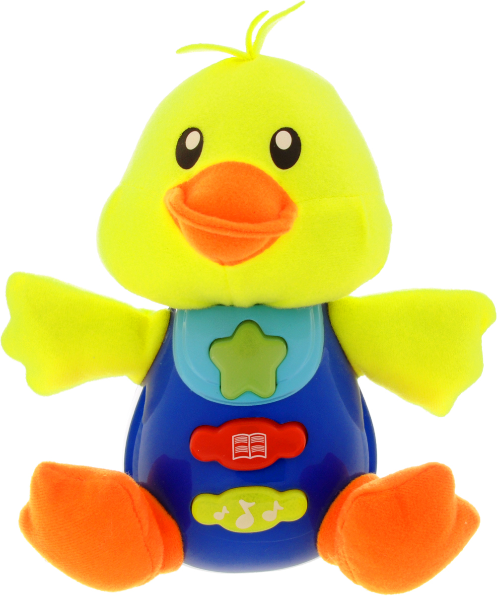 Умка Обучающая игрушка Уточка умка книга игрушка паровозики на задании чаггинтгтон