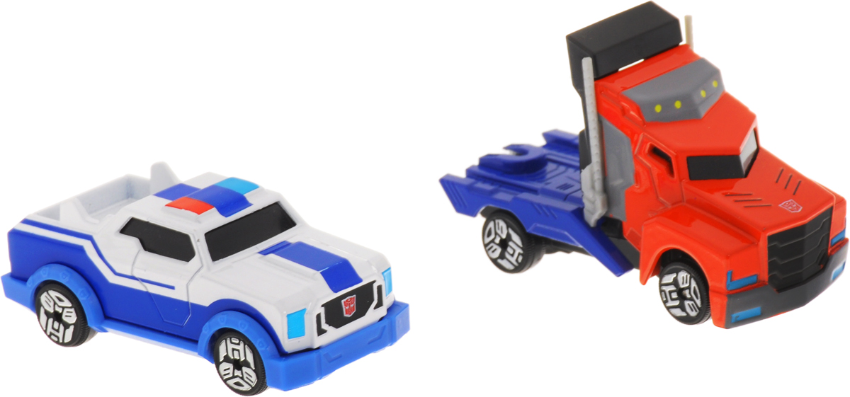 Dickie Toys Набор машинок Optimus Prime & Strongarm 2 шт transformers robots in disguise wipe clean first writing