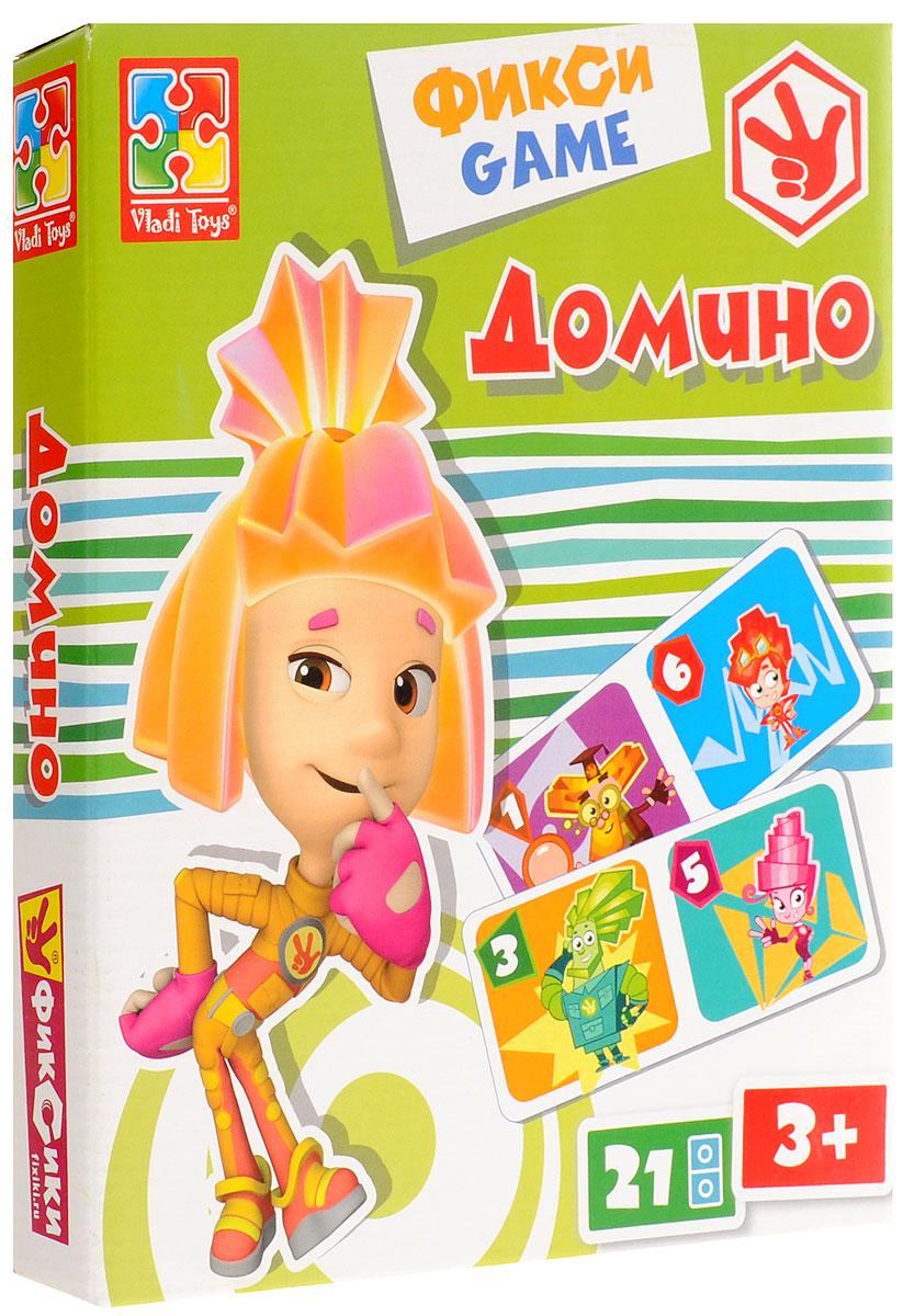 Vladi Toys Обучающая игра Фиксики Домино настольные игры vladi toys игра настольная фиксики домино