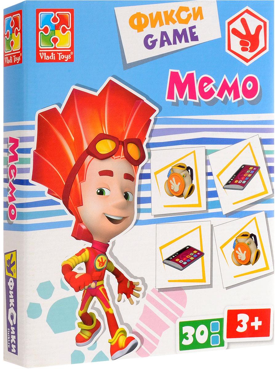 Vladi Toys Игра настольная Фиксики Мемо