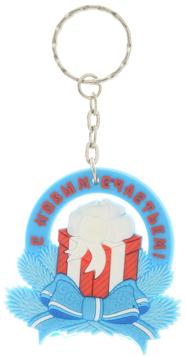 Брелок новогодний Lillo ПодарокБРБрелок Lillo Подарок станет прекрасным новогодним сувениром и обязательно порадует получателя. Декоративная часть выполнена из ПВХ. Брелок снабжен металлическим кольцом для ключей. Брелок Lillo Подарок - сувенир в полном смысле этого слова. В переводе с французского souvenir означает воспоминание. И главная задача любого сувенира - хранить воспоминание о месте, где вы побывали, или о том человеке, который подарил данный предмет. Размер брелока (без учета кольца): 5,5 х 0,5 х 5,5 см.Высота брелока (с учетом кольца): 11 см.