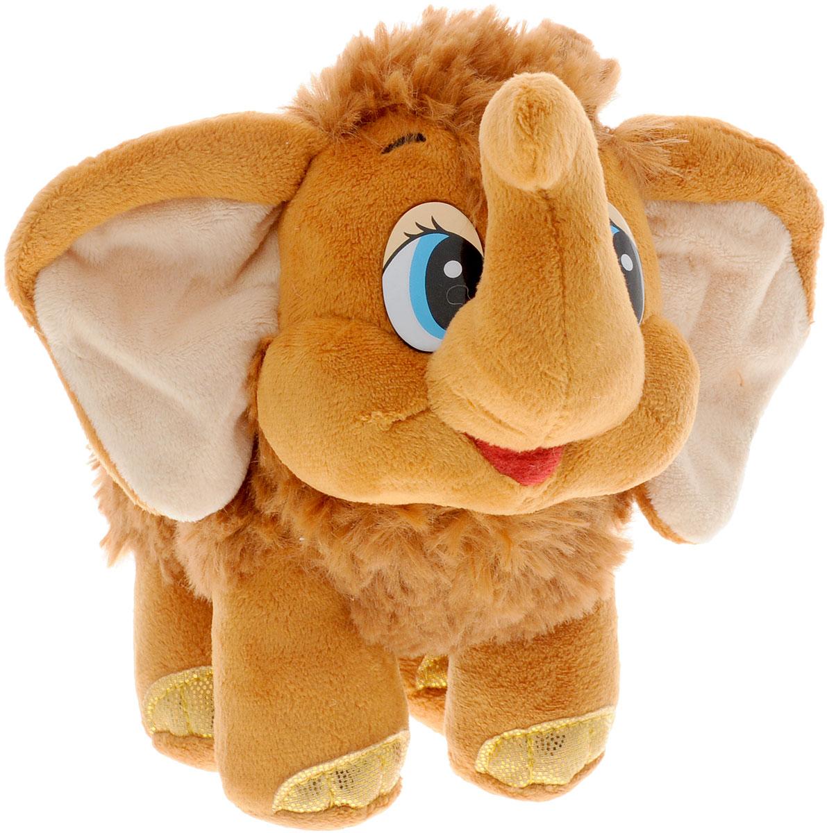 Мульти-Пульти Мягкая игрушка Мамонтенок 20 см мульти пульти мягкая игрушка принцесса луна 18 см со звуком my little pony мульти пульти