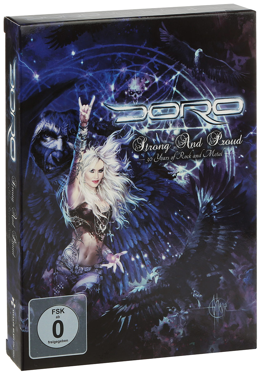 Doro: Strong And Proud: 30 Years Of Rock And Metal (3 DVD)