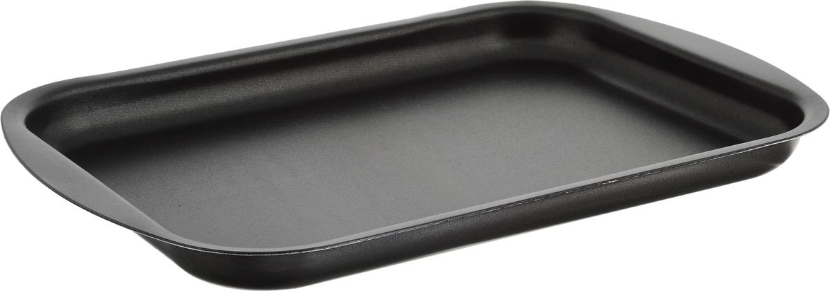 Противень для выпечки печенья Scovo Discovery, с антипригарным покрытием, цвет: серый, 34 х 23,8 х 2,6 см 46 23