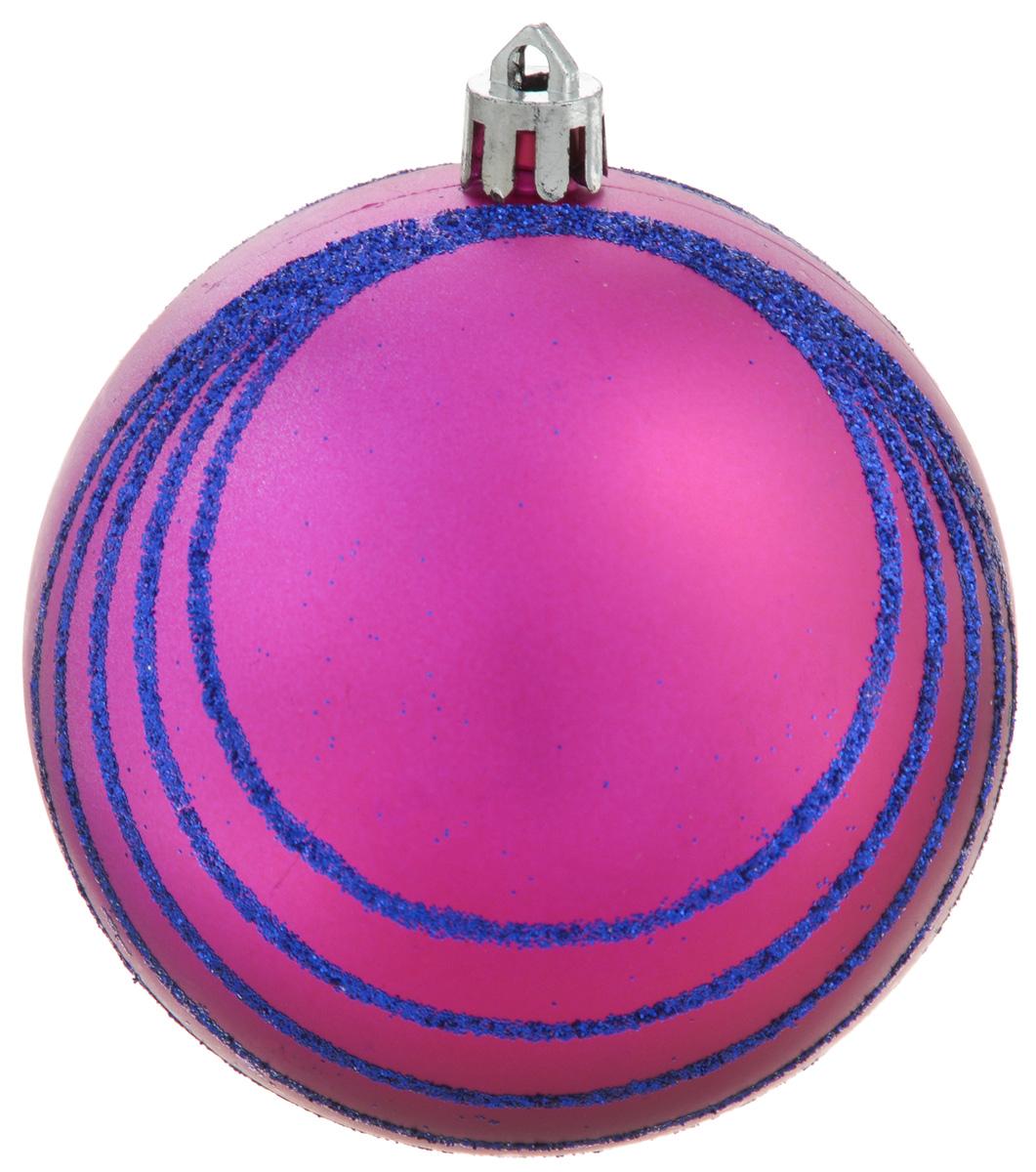 Украшение новогоднее подвесное Winter Wings Шар. Полоски, диаметр 8 смN181834Украшение новогоднее подвесное Winter Wings Шар. Полоски прекрасно подойдет для праздничного декора новогодней ели. Изделие выполнено из пластика и декорировано полосками из блесток. Для удобного размещения на елке предусмотрено отверстие для текстильной веревочки.Елочная игрушка - символ Нового года. Она несет в себе волшебство и красоту праздника. Создайте в своем доме атмосферу веселья и радости, украшая новогоднюю елку нарядными игрушками, которые будут из года в год накапливать теплоту воспоминаний.
