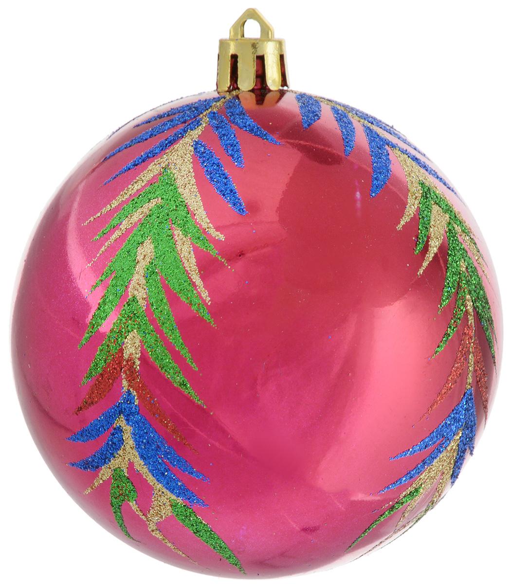 Украшение новогоднее подвесное Winter Wings Шар. Роспись, диаметр 8 смN181821Украшение новогоднее подвесное Winter Wings Шар. Роспись прекрасно подойдет для праздничного декора новогодней ели. Изделие выполнено из пластика и декорировано красивым узором из блесток. Для удобного размещения на елке предусмотрено отверстие для текстильной веревочки. Елочная игрушка - символ Нового года. Она несет в себе волшебство и красоту праздника. Создайте в своем доме атмосферу веселья и радости, украшая новогоднюю елку нарядными игрушками, которые будут из года в год накапливать теплоту воспоминаний.