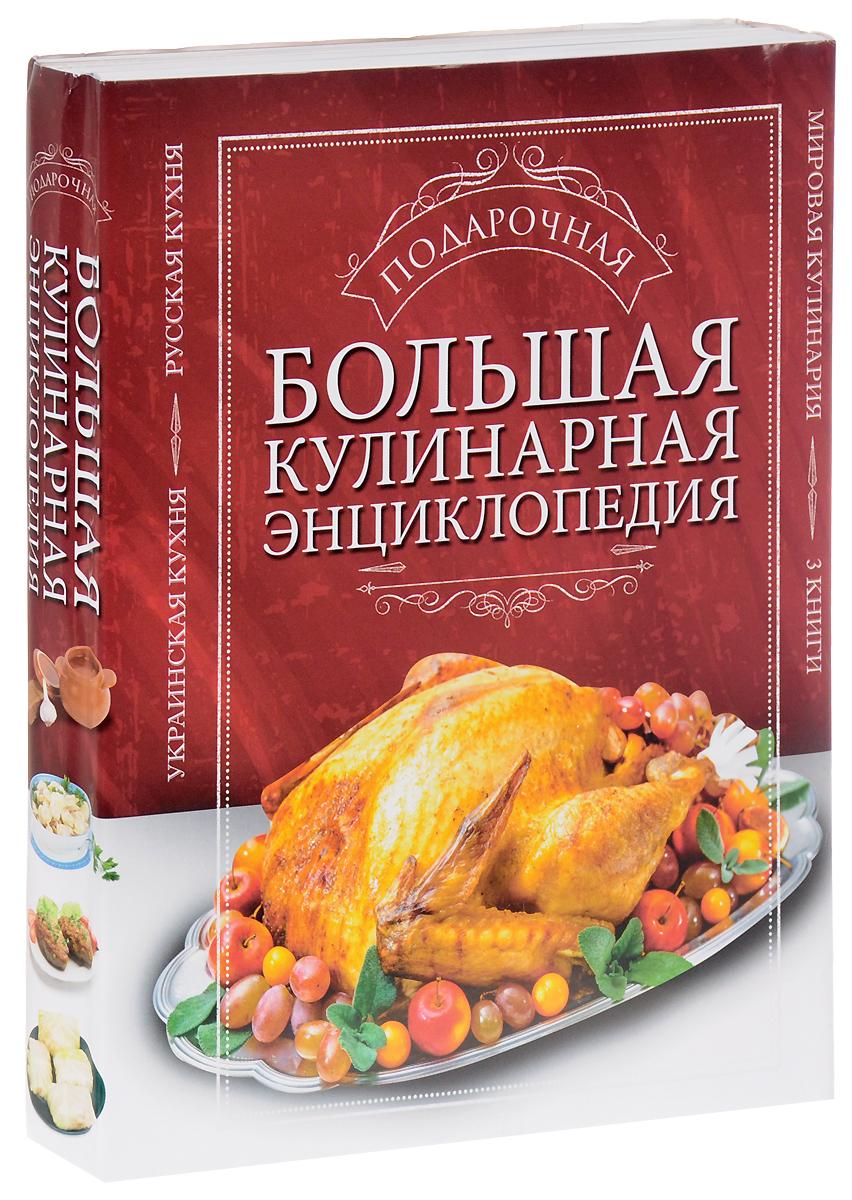 Большая подарочная кулинарная энциклопедия (комплект из 3 книг) большая энциклопедия животных и растений комплект из 3 х книг