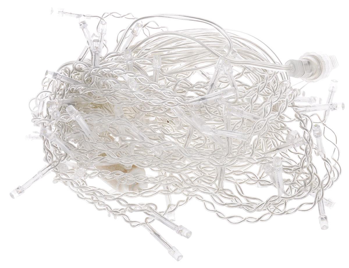 Электрогирлянда внешняя B&H  Сосульки , 91 светодиод, цвет: холодный белый, 2 м - Гирлянды и светильники