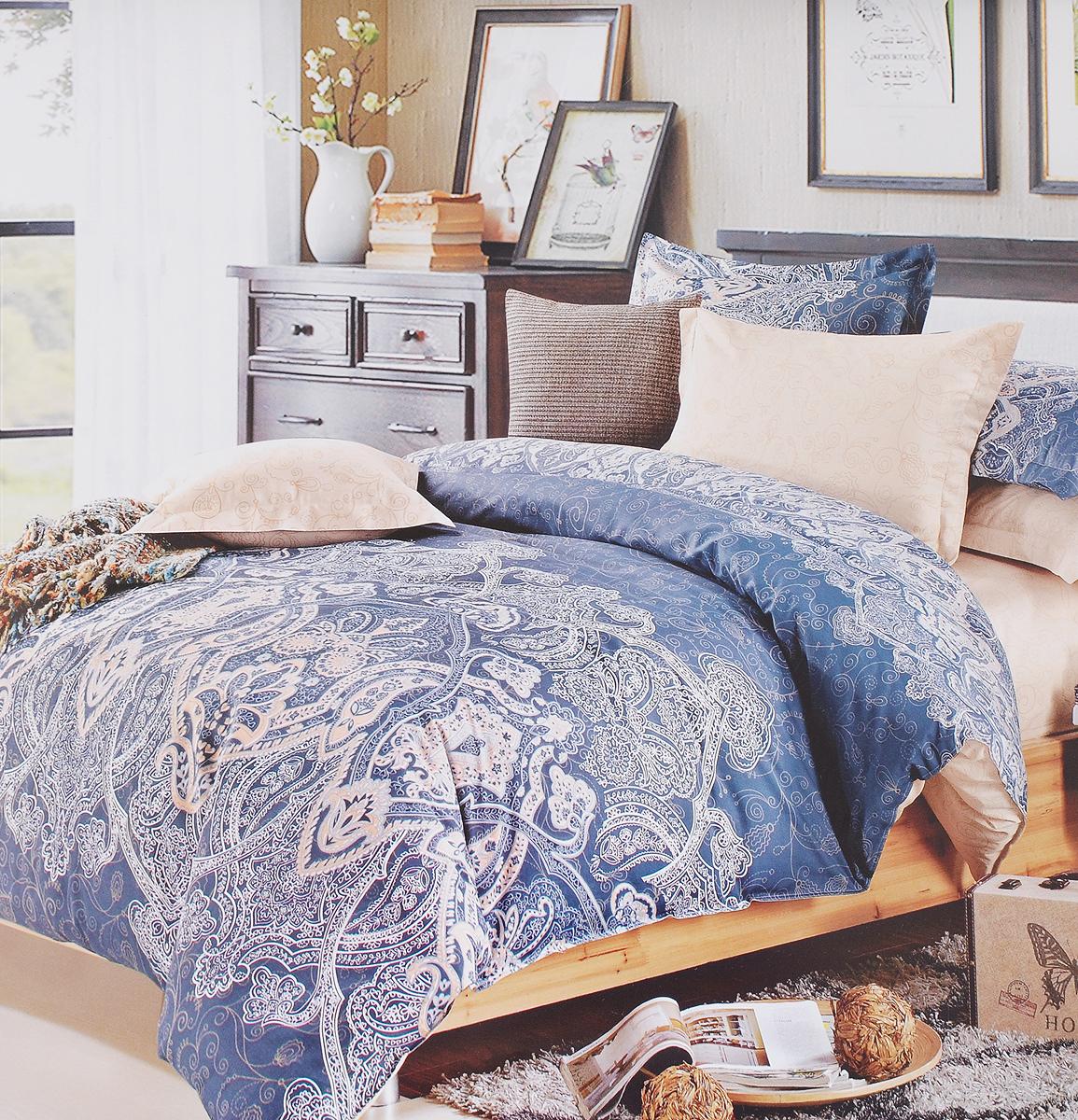 Комплект белья Classic by T Вива, 1,5-спальный, наволочки 50х70