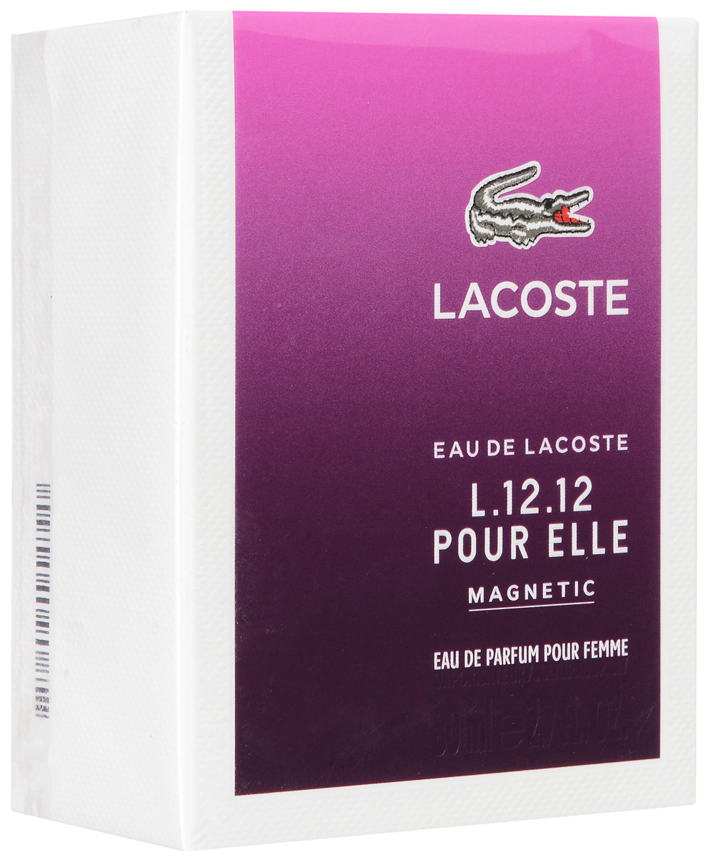 Lacoste Pour Elle Magnetic Парфюмерная вода женская 80мл lacoste туалетная вода pour elle natural lacoste 30 мл