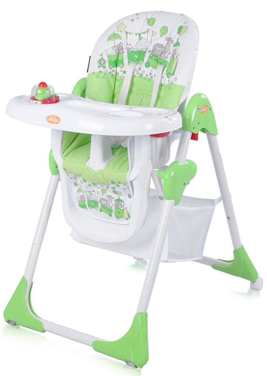 Lorelli Стульчик для кормления Yam Yam цвет зеленый