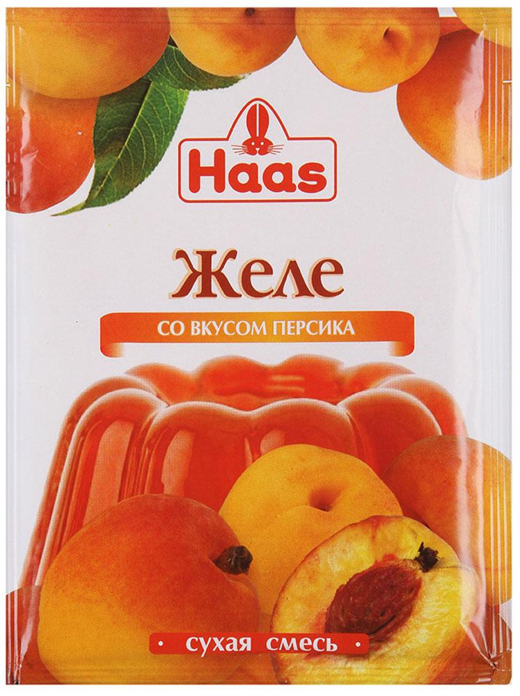 Haas желе десертное Персик, 50 г239022Легкий фруктовый десерт. Способ приготовления:Вскипятить воду. Содержимое одного пакета засыпать в 250 мл кипяченой горячей воды и тщательно перемешать до полного растворения. Влить в подготовленные формы и поставить в холодильник до полного застывания (2,5-3 часа).Готовое желе можно порезать кубиками или другими фигурными кусочками, которые украсят любой домашний десерт и придадут оригинальность праздничной сервировке. Залейте остывшим желе ягоды или фрукты и украсьте взбитыми сливками Haas. Праздничный десерт готов!Уважаемые клиенты! Обращаем ваше внимание, что полный перечень состава продукта представлен на дополнительном изображении.