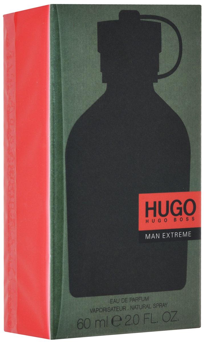 Hugo Boss Man Extreme Парфюмерная вода 60 мл0737052987200Яркий и бодрящий, тонизирующий и притягательный букет великолепно освежает, наполняет энергией, завораживает роскошной игрой бликов. В элегантной и выразительной композиции гармонично переплетаются аккорды драгоценных специй и пряных трав с умеренными древесно-бальзамическими мотивами и сочными фруктовыми акцентами. Начальные ноты зеленого яблока прекрасно гармонируют с прохладной свежестью герани и лаванды. Пикантные вкрапления шалфея создают пьянящую интригу, чтобы потом медленно раствориться в смолистых объятьях пихты и кедра. Верхняя нота: Зеленое яблоко. Средняя нота: Герань, Лаванда, Шалфей. Шлейф: Кедр, смола пихты. Привлекательность HUGO MAN Extreme заключается в необычном сочетании оттенков, которые создают мощный взрыв свежести. Аромат для тех, кто хочет жить полной жизнью и играть по своим правилам. Дневной и вечерний аромат.Краткий гид по парфюмерии: виды, ноты, ароматы, советы по выбору. Статья OZON Гид