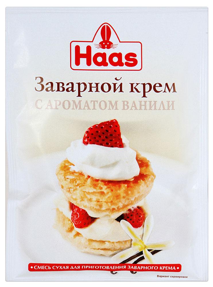 Haas крем заварной ванильный, 100 г